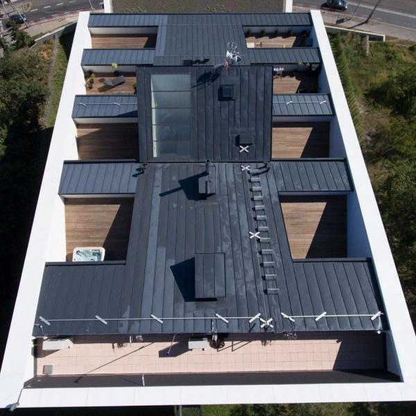 Rezidence .142-pohled na střechu